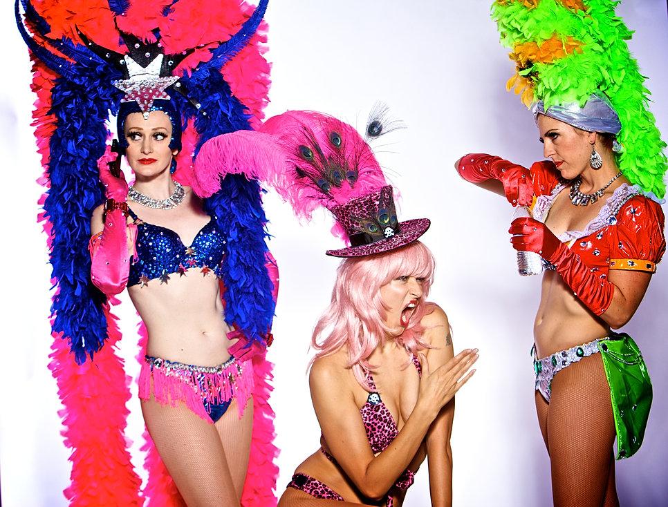 Las Vegas Showgirl Dancers Custom Made Las Vegas Showgirl