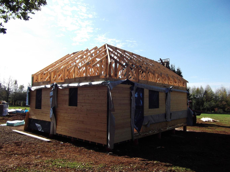 Artisan poseur terrasse bois valence renovation st peray for Agrandissement maison ossature bois