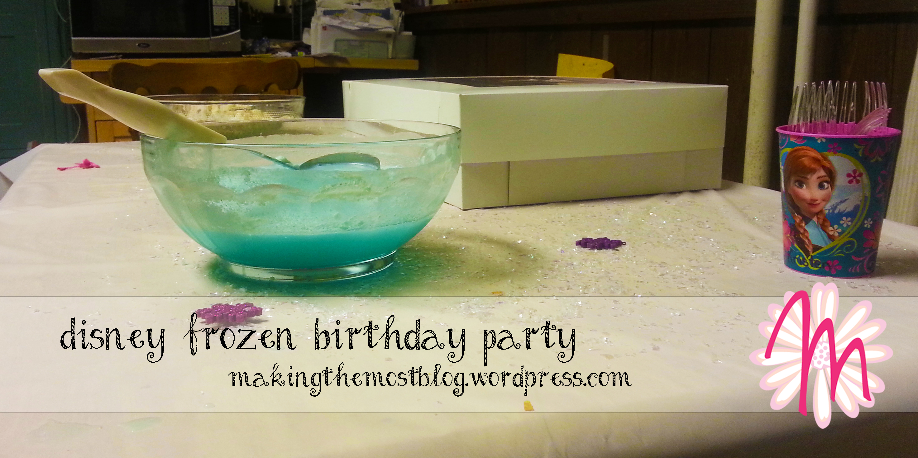 Decor | Disney Frozen Birthday | Making the Most Blog
