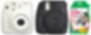 """מבצע היכרות! מצלמת Instax Mini 8 ופילם Instax Mini ב-495 ש""""ח בלבד!"""