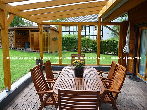 holzprofi lobach gmbh terrassen berdachung grevenbroich sonderkonstruktion. Black Bedroom Furniture Sets. Home Design Ideas