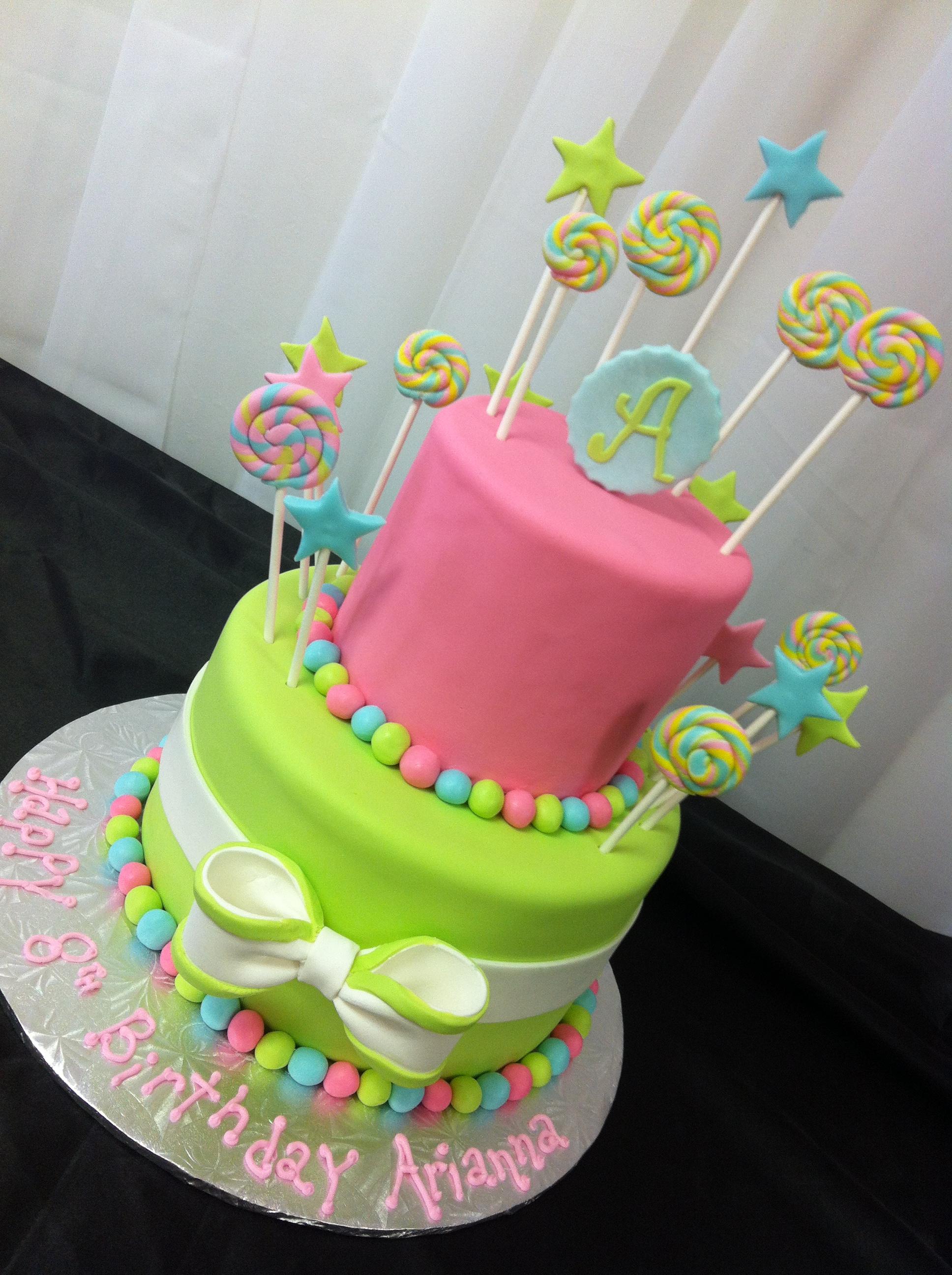Lollipop Birthday Cake Pictures