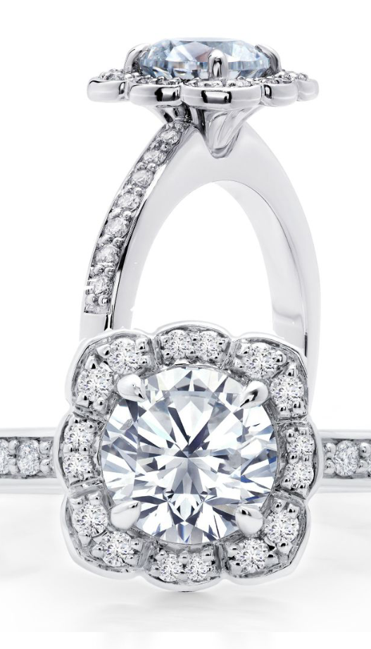 Serli Siroan Halo Diamond Engagement Rings Toronto