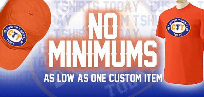 Custom t shirts today atlanta ga for Custom t shirts no minimum order
