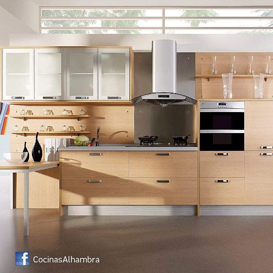 Alhambra muebles de cocina bajomesada alacenas a medida for Muebles de fabrica