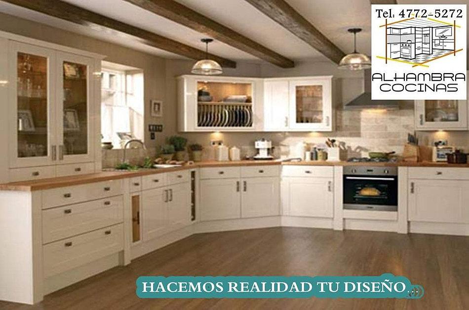 Alhambra muebles de cocina bajomesada alacenas a medida for Fabrica muebles cocina