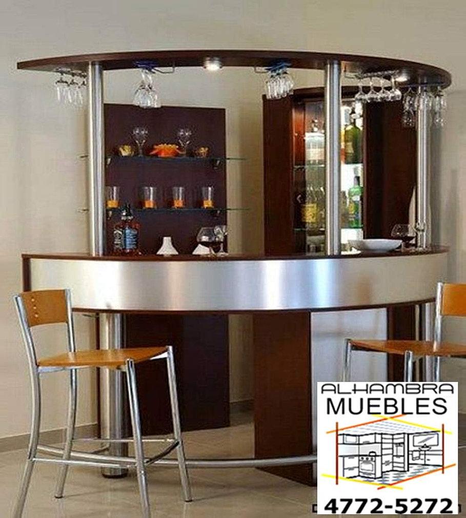 Alhambra fabrica de barras bar vinotecas cabas bodegueros for Barras de bar para casa