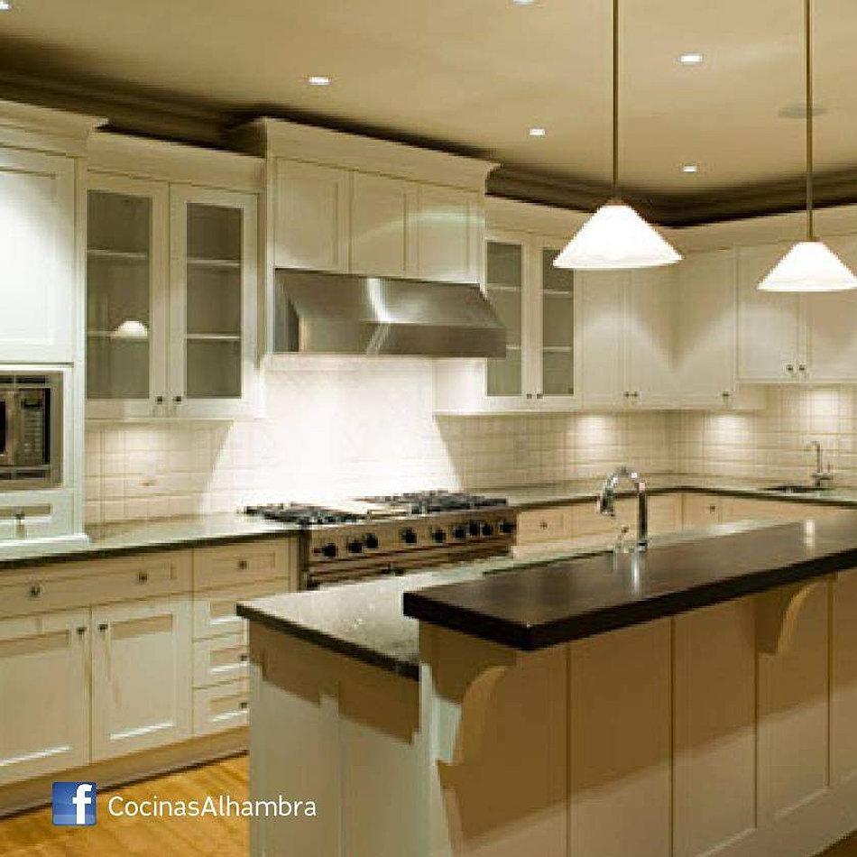 Alhambra muebles de cocina bajomesada alacenas a medida for Muebles de cocina modernos con desayunador