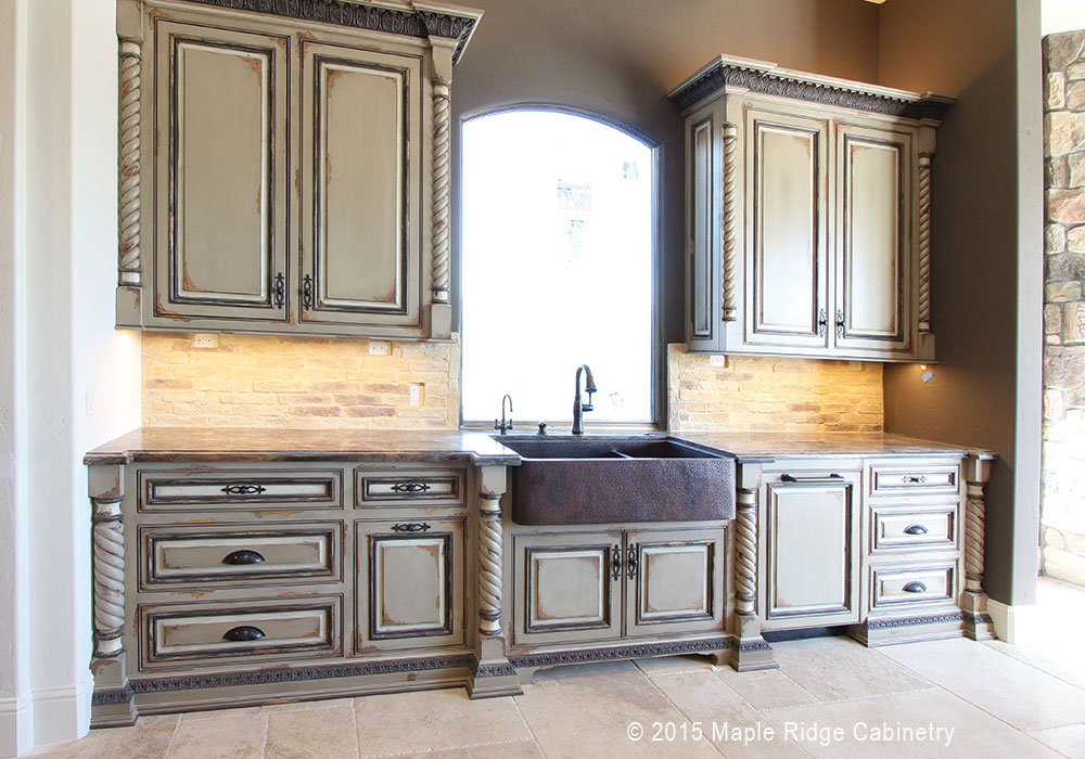 Pilasters and Moldings add Unique Detail | Maple Ridge Cabinetry
