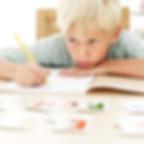Dry Eye, Children, Teens, Trouble with homework