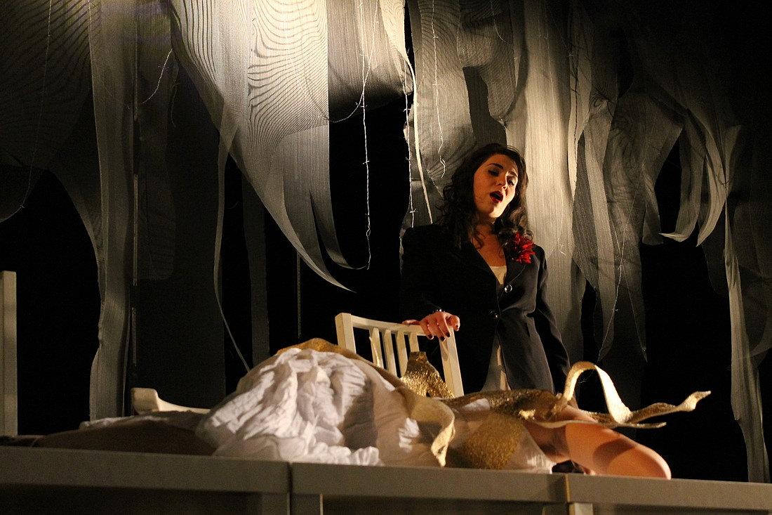 Amal El-Shrafi, Soprano   Rape of Lucretia