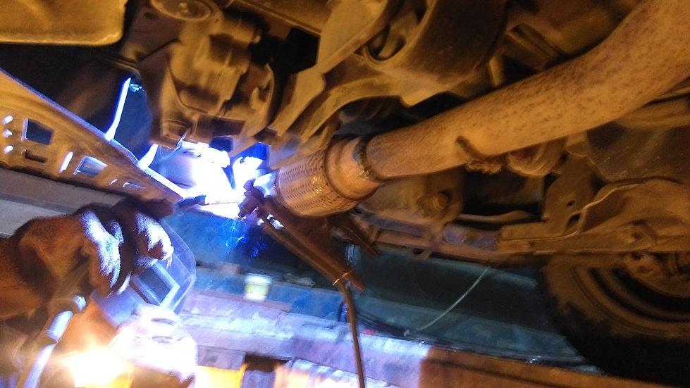 катализатор ремонт ауди а6