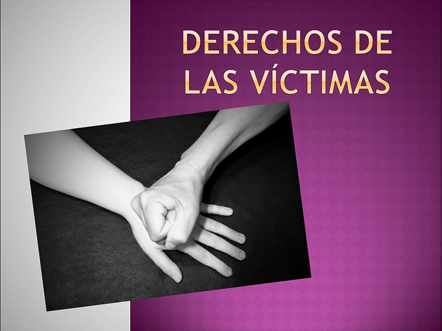 derechos de las víctimas