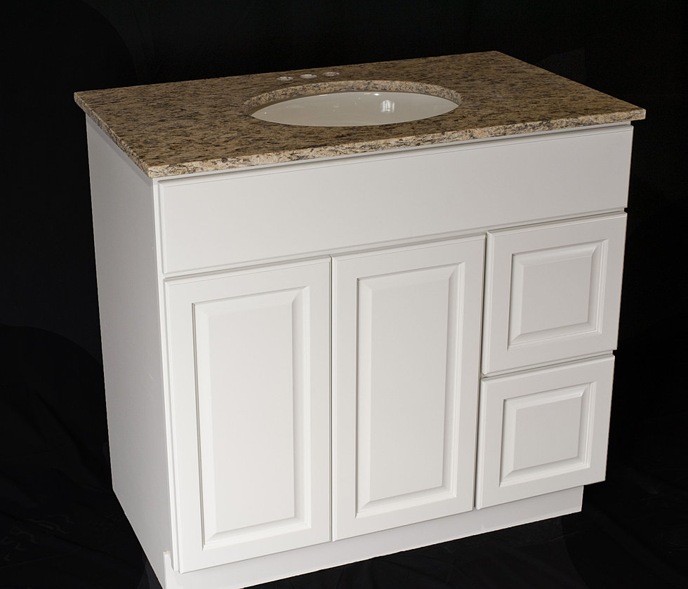 Alpine 36  w Drawers. Bathroom Vanities   Tops