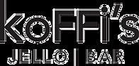 Koffi's Jello Bar, jello shots