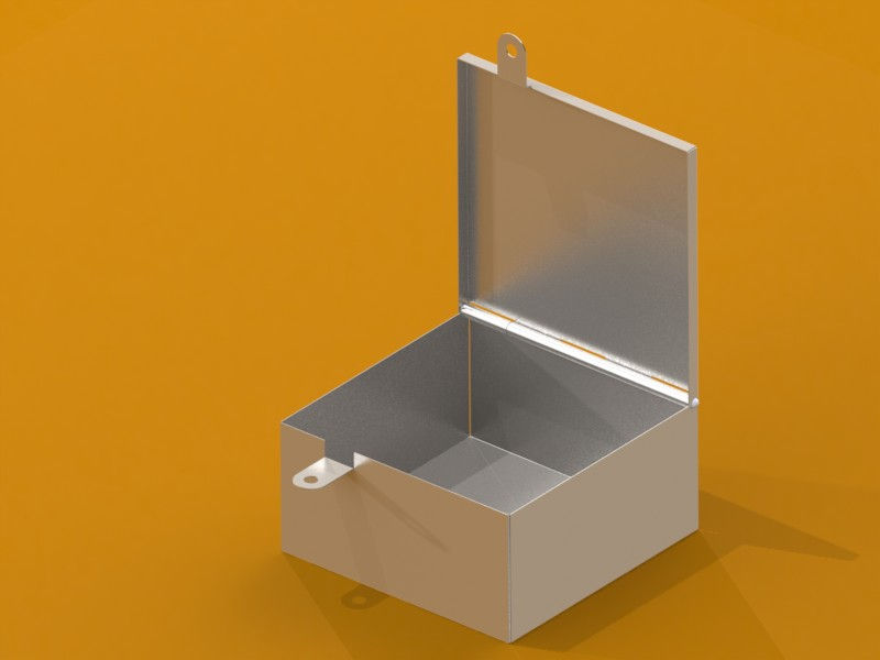 SolidWorks Portfolio Created By Gary Maltby Sheet metal