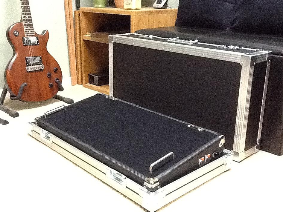 Metal Pedal Case : Metal shop pedal boards nj