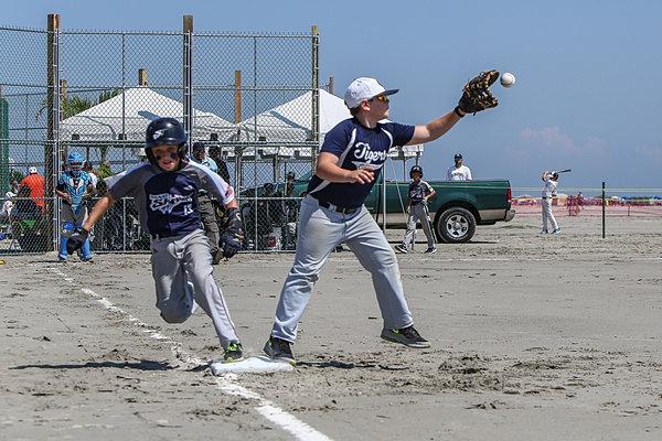 South Jersey Sand Sharks Baseball Club Baseball On The Beach