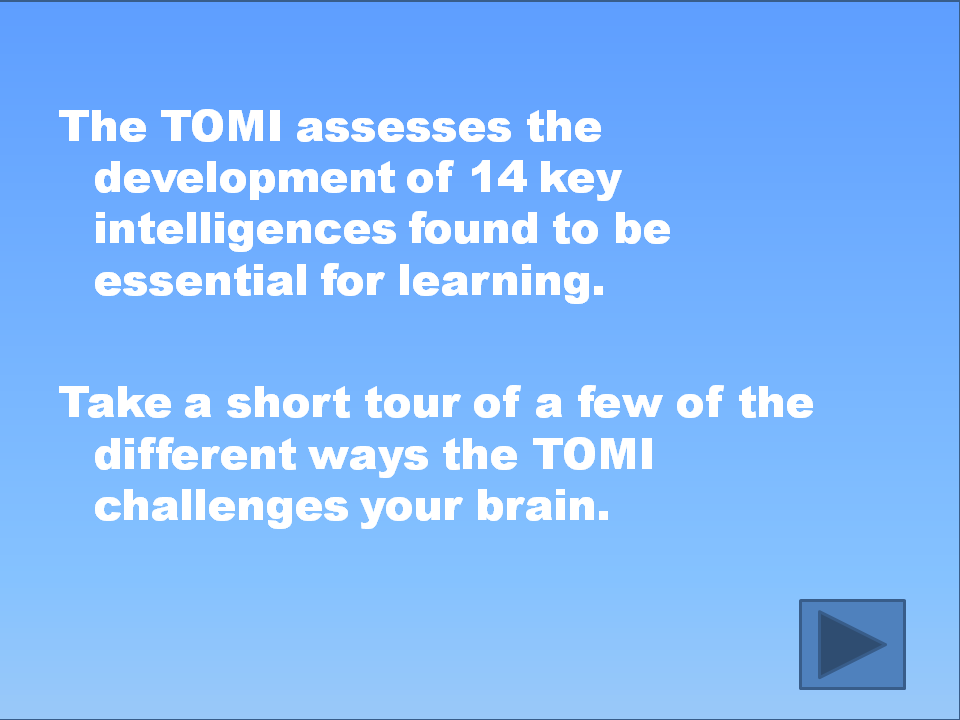 Introduction to TOMI