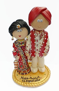 Indian Wedding Cake Toppers Durban