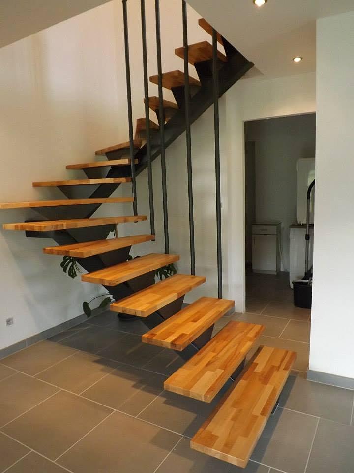 Gpmeca escalier double quart tournant limon - Escalier double quart tournant ...