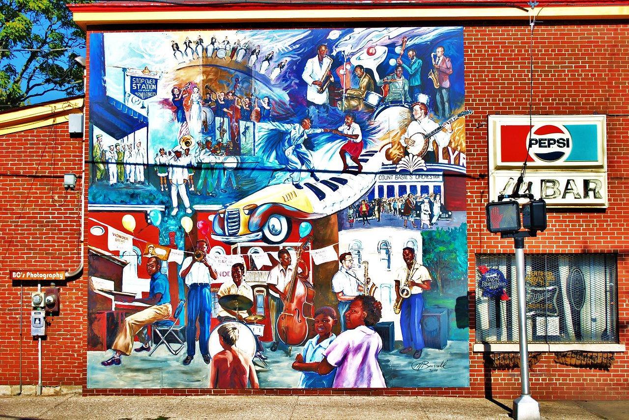 Bcs for Black history mural