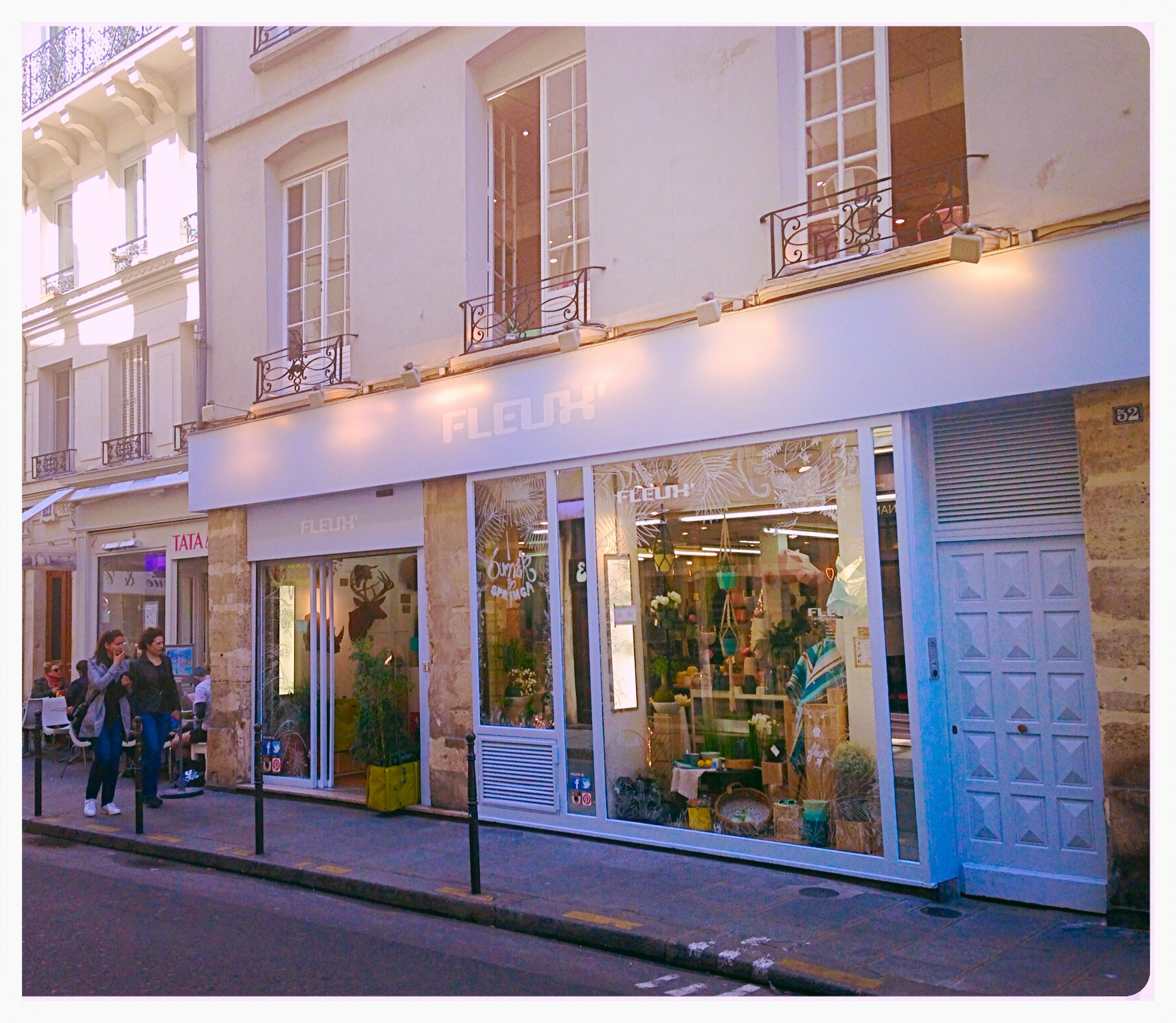 Un dimanche d co paris d co la parisienne le blog de alice vermelin - 39 rue sainte croix de la bretonnerie ...