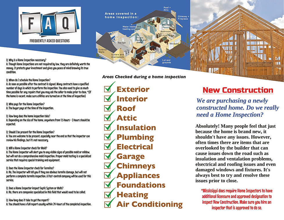 1st choice home inspections southaven mississippi A 1 inspections