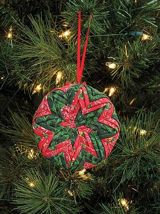 Fabric Ornaments Patterns : Patterns for No- Sew quilted ornaments and wall hangings.