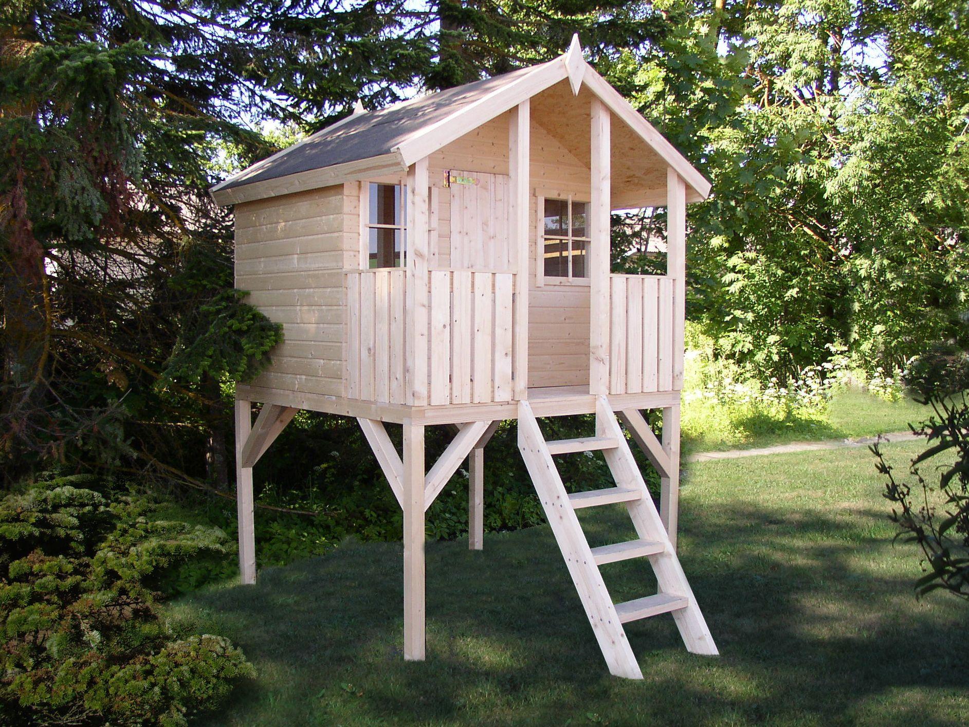 Деревянный домик ребенку своими руками