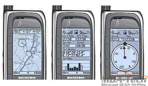GPS - Benefon ESC