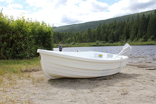 Backwater boats for Small plastic fishing boats
