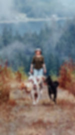 Lisalea w_dogs on hike.jpg