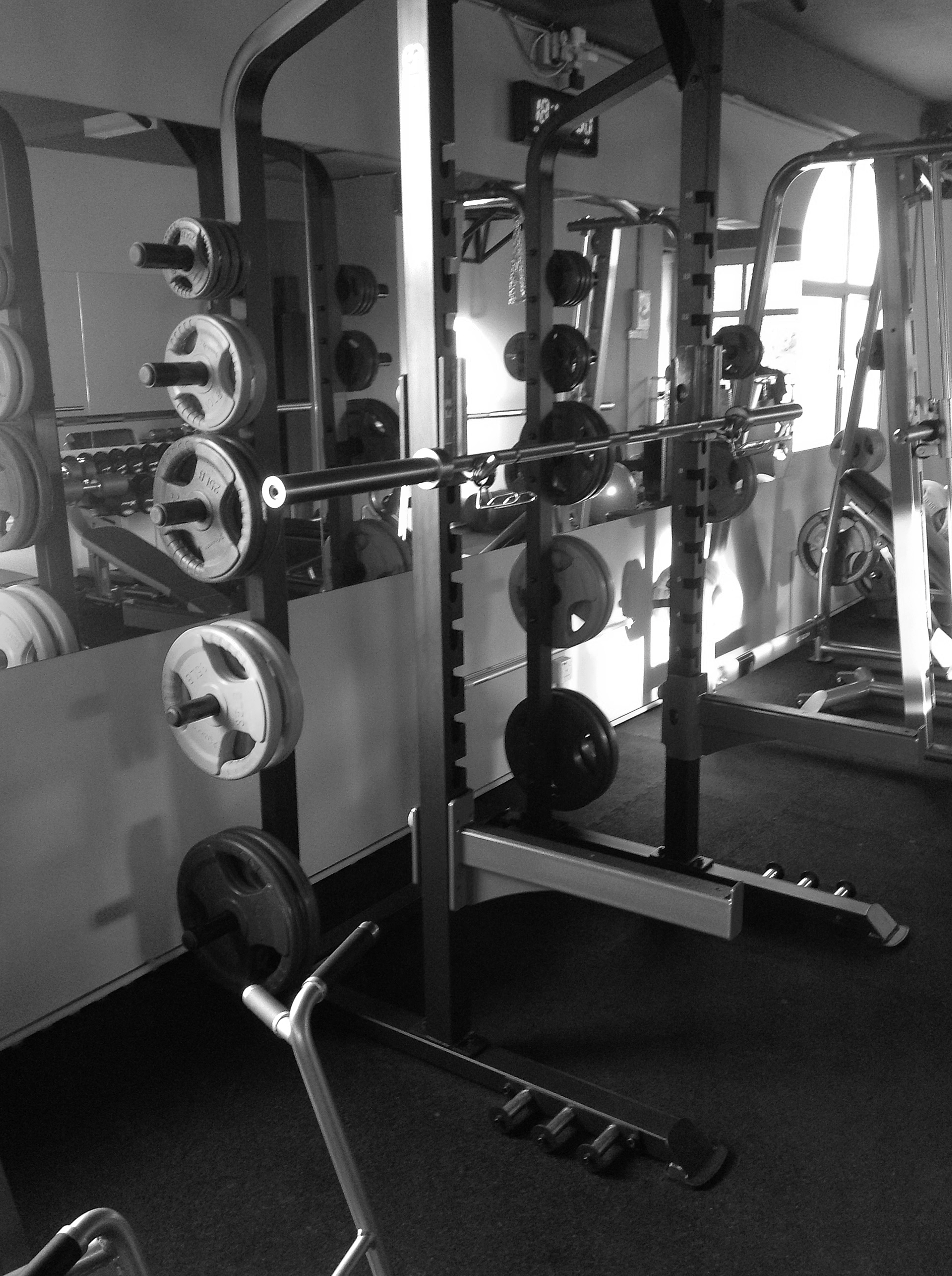 assisted smith machine