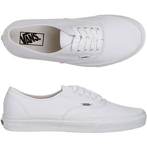 classic vans white