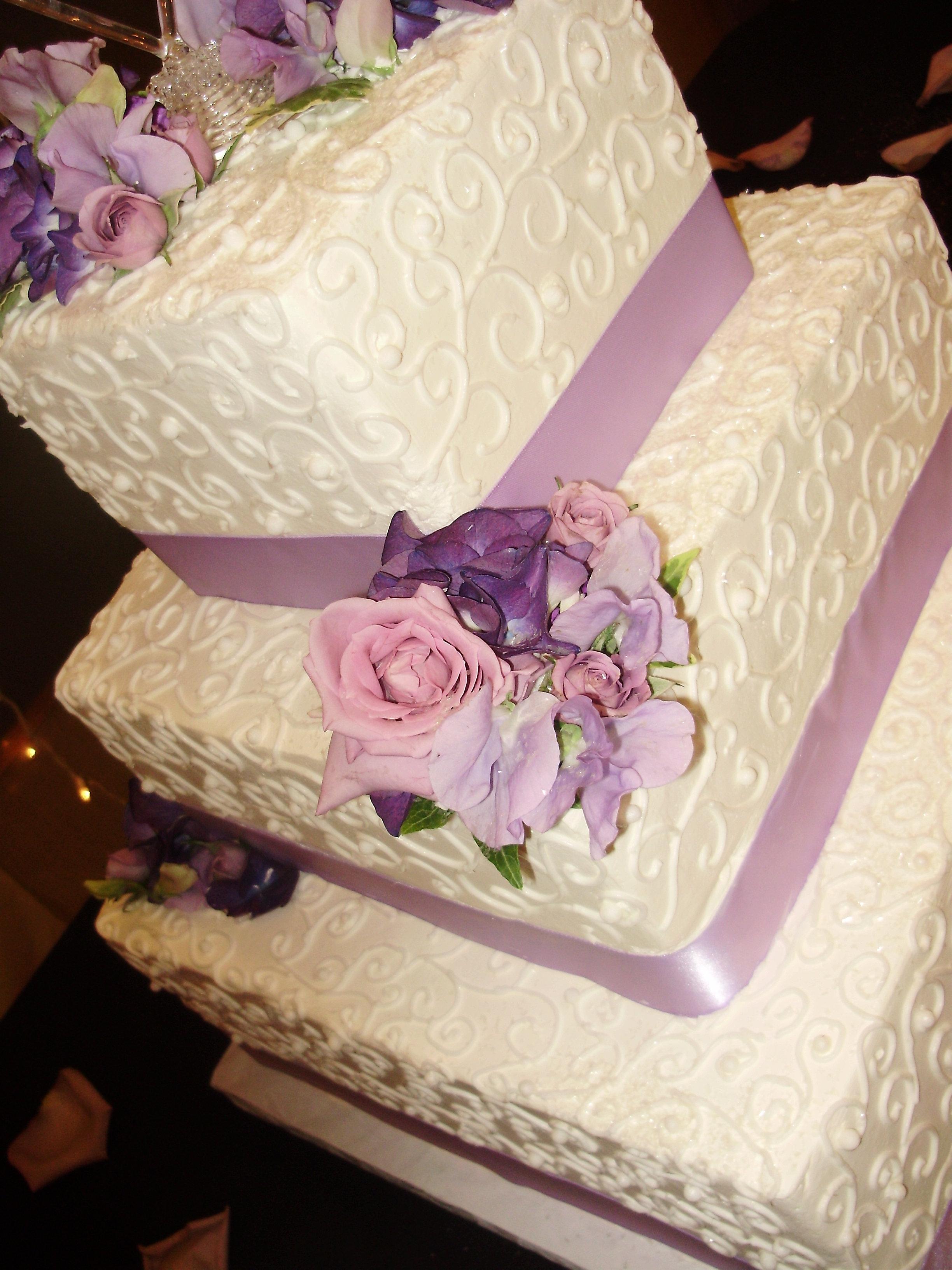 Scroll Cake Topper