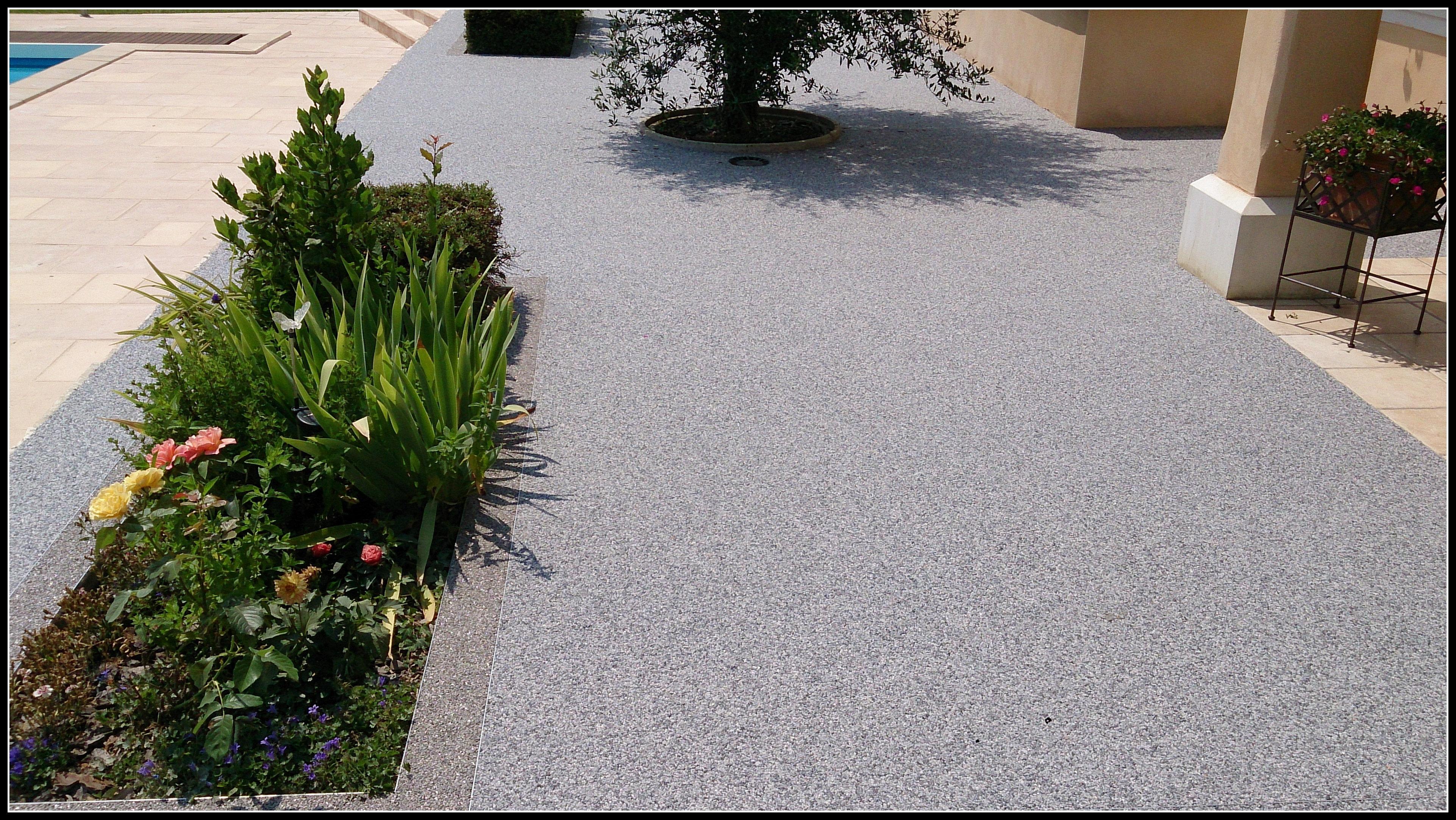 gravier resine revetement sol exterieur resine 3d matieres stone marbre. Black Bedroom Furniture Sets. Home Design Ideas