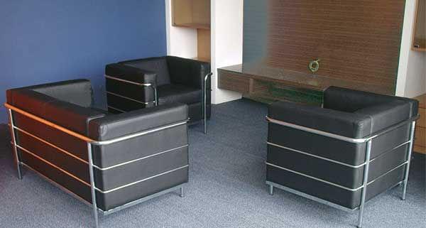 office settee. office settee sofa