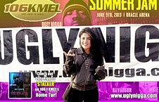 106.1 KMEL Summer Jam photo shoot