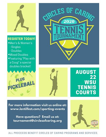 2020 Circles of Caring Tennis Tourney Fl