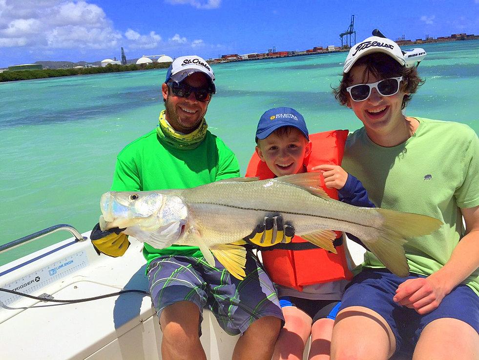 St croix inshore fishing charters for St croix fishing
