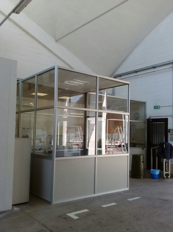 Produzione di pareti mobili pareti divisorie box ufficio for Divisori mobili per ufficio