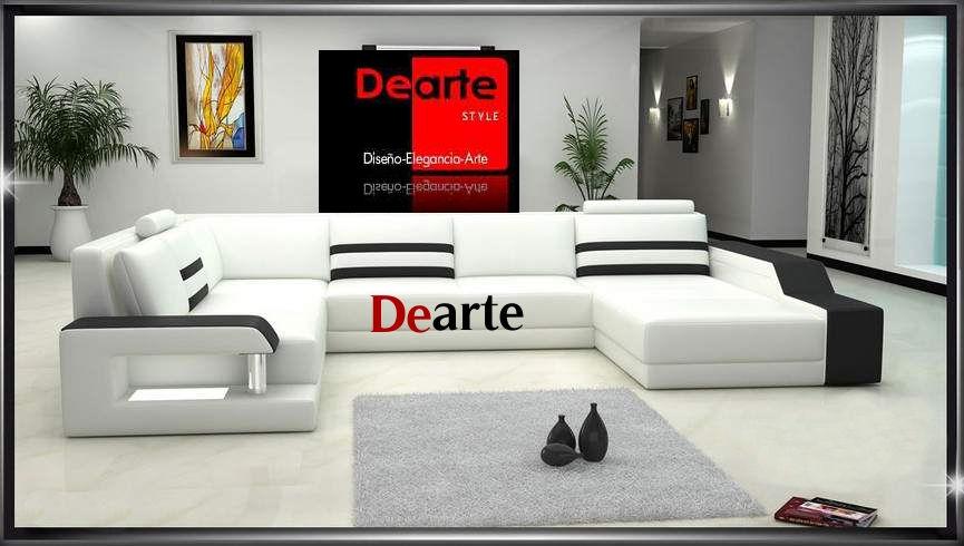 Muebles dearte juegos de sala modernos elegantes dearte for Colores modernos para muebles de sala