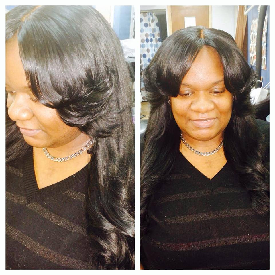 Weaves in New York , Crochet Braids in New York FULL HEAD SEW IN ...