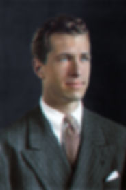 George Mergenthaler. Colorized by Marina Amaral
