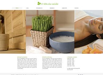 Saúde Spa Template - O tema deste template em HTML é tranquilo e relaxante. Adicione suas próprias imagens e texto para criar um visual único. Simples de editar e atualizar, dê início à sua presença online hoje!