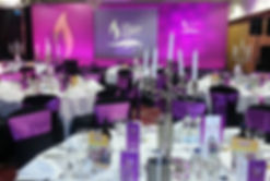 Corporate Charity Ball Decor and Event Styling, Centrepiece Hire