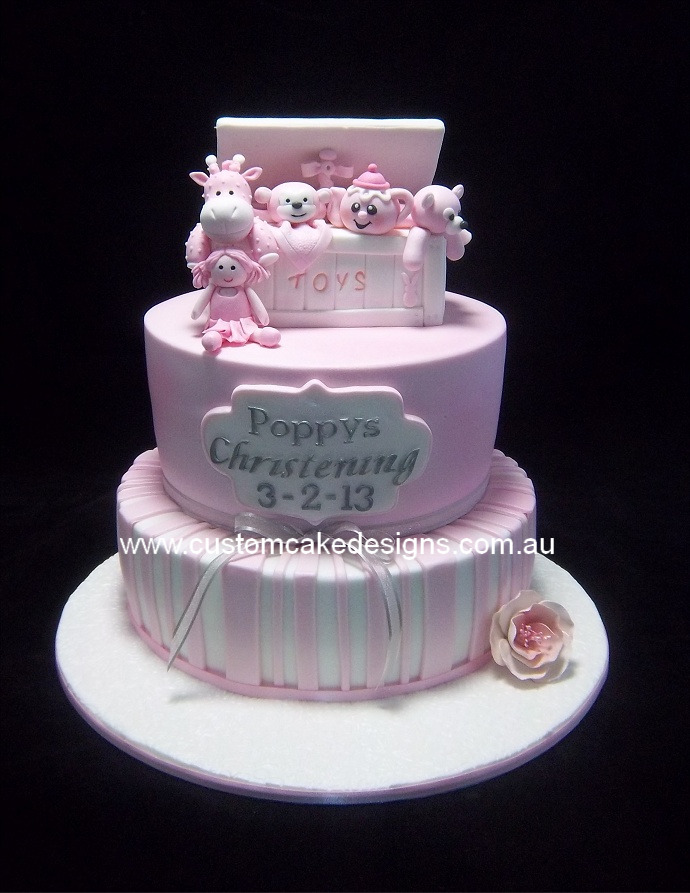 Custom Cake Designs Cake Decorator Perth | Pink Toybox ...