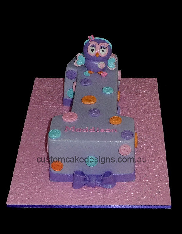 First Birthday Cake Number One