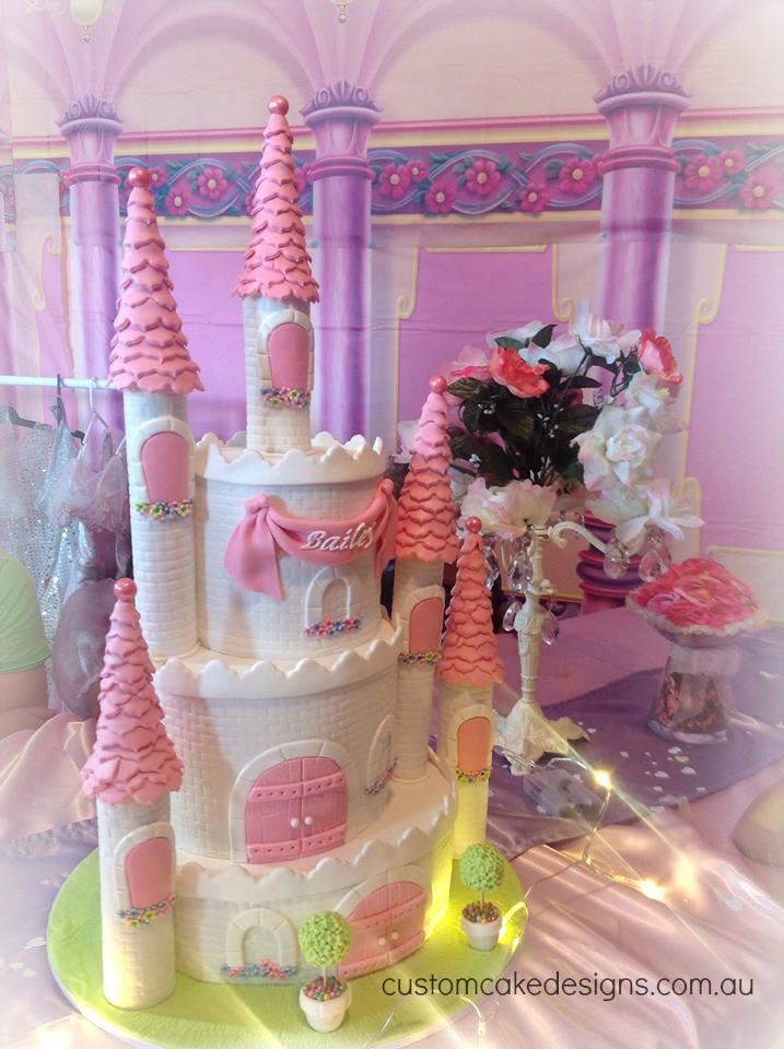 Birthday Cake Princess Designs